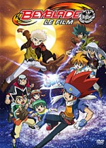 Jaquette Beyblade - Le Film