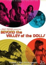 Jaquette Beyond the Valley of the Dolls EPUISE/OUT OF PRINT
