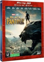 Jaquette Black Panther (Combo Blu-ray 3D + Blu-ray 2D)