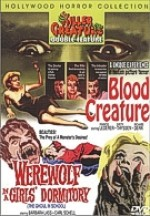 Jaquette BLOOD CREATURE/WEREWOLF IN A GIRL'S DORMITORY