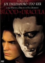 Jaquette Blood For Dracula