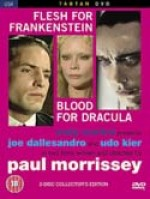 Jaquette Blood For Dracula / Flesh For Frankenstein