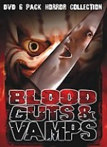 Jaquette Blood Guts & Vampires