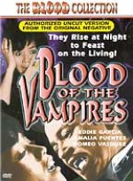 Jaquette BLOOD OF THE VAMPIRES (SPECIAL EDITION)