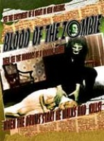Jaquette BLOOD OF THE ZOMBIE THE DEAD ONE