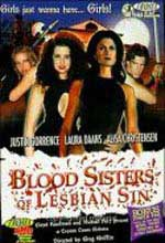 Jaquette BLOOD SISTERS OF LESBIAN SIN