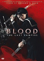 Jaquette Blood - The Last Vampire : Le Film + L'anime (Pack)