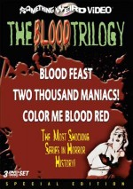 Jaquette BLOOD TRILOGY BLOOD FEAST/2000 MANIACS/COLOR ME BLOOD RED