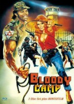 Jaquette Bloody Camp - Cover A - (Blu-Ray) - Eurocult Collection - Limited 333 Edition