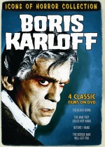 Jaquette Boris Karloff Horror Flicks Collection