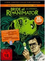 Jaquette Bride of Re-animator (3Disc Limited Collectors Edition) EPUISE/OUT OF PRINT