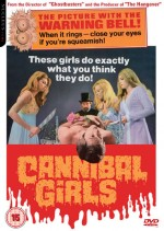 Jaquette Cannibal Girls