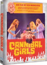 Jaquette Cannibal Girls (Bluray + 2 DVD - Cover A)