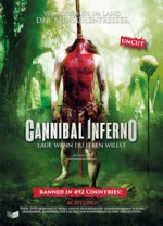Jaquette Cannibal Inferno (Isle of the Damned)