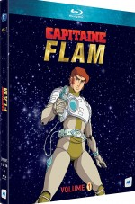 Jaquette Capitaine Flam - Volume 1 - �pisodes 1 � 16 [�dition remasteris�e]