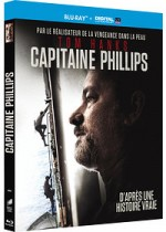 Jaquette Capitaine Phillips (Blu-ray + Copie digitale)