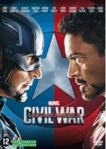 Jaquette Captain America : Civil War