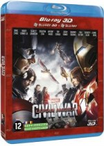 Jaquette Captain America : Civil War (Combo Blu-ray 3D + Blu-ray 2D)