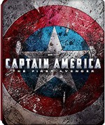 Jaquette Captain America - The First Avenger (Blu-ray 3D + Blu-ray + Copie digitale)