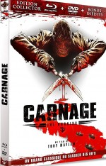 Jaquette Carnage (DVD + Bluray)
