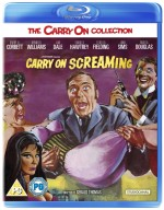 Jaquette Carry on Screaming (BLU-RAY+DVD)