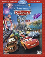 Jaquette Cars 2 (Blu-ray 3D + Blu-ray + Copie digitale)