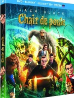 Jaquette Chair de poule (Combo Blu-ray 3D + Blu-ray + DVD)
