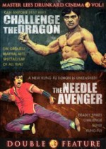 Jaquette Challenge of the Dragon / Needle Avenger