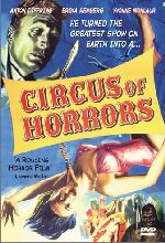 Jaquette Circus of Horrors EPUISE/OUT OF PRINT