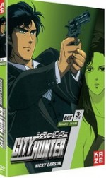 Jaquette City Hunter - Nicky Larson - Box 3/4