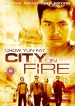 Jaquette City On Fire EPUISE/OUT OF PRINT