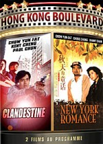 Jaquette Clandestine + New York Romance EPUISE/OUT OF PRINT