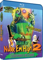 Jaquette Class of Nuke 'Em High II: Subhumanoid Meltdown