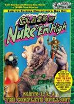 Jaquette CLASS OF NUKE'EM HIGH THE COMPLETE SPILL-OGY