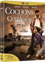 Jaquette Cochons et cuirasses (Combo Blu-ray + DVD)