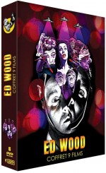 Jaquette Coffret Ed Wood