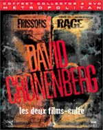 Jaquette Coffret Frissons + Rage  (Edition Collector - Coffret 2 DVD)