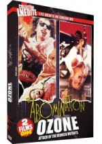 Jaquette Coffret les inédits du gore : Ozone + abomination EPUISE/OUT OF PRINT