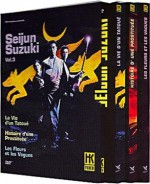 Jaquette Coffret Seijun Suzuki Volume 3 EPUISE/OUT OF PRINT