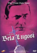 Jaquette Collection Bela Lugosi : Plan 9 From Outer Space
