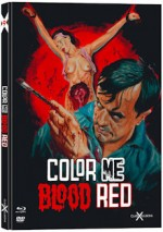 Jaquette Color me Blood Red (DVD + BLURAY)