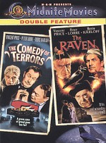 Jaquette Comedy of Terrors/The Raven EPUISE/OUT OF PRINT