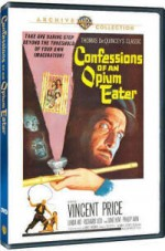 Jaquette Confessions of an Opium Eater