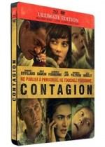 Jaquette Contagion (Ultimate Edition - Blu-ray + DVD + Copie digitale)