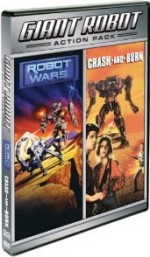 Jaquette Crash And Burn/Robot Wars (Double Feature)
