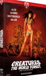 Jaquette Creatures The World Forgot (Violence Et Sexe Aux Temps Prehistoriques)  - Combo Dvd + Blu Ray