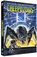 Jaquette Creepozoids (Blu-Ray+DVD) - Cover B