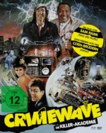 Jaquette Crimewave - Die Killer-Akademie - Cover A (Blu-Ray+DVD)