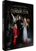 Jaquette Crimson Peak (Blu-ray + Copie digitale - Édition boîtier SteelBook)