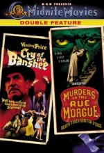 Jaquette Cry of the Banshee / Murders in the Rue Morgue Epuisé/Out of Print